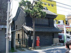 曳家改修前の富岡家見世蔵