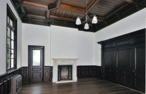 復元された洋室