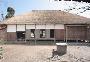 竣工写真 旧伊藤左千夫生家裏面(北側)修理後