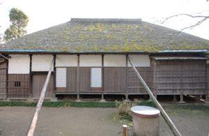 竣工写真 旧伊藤左千夫生家裏面(北側)修理前